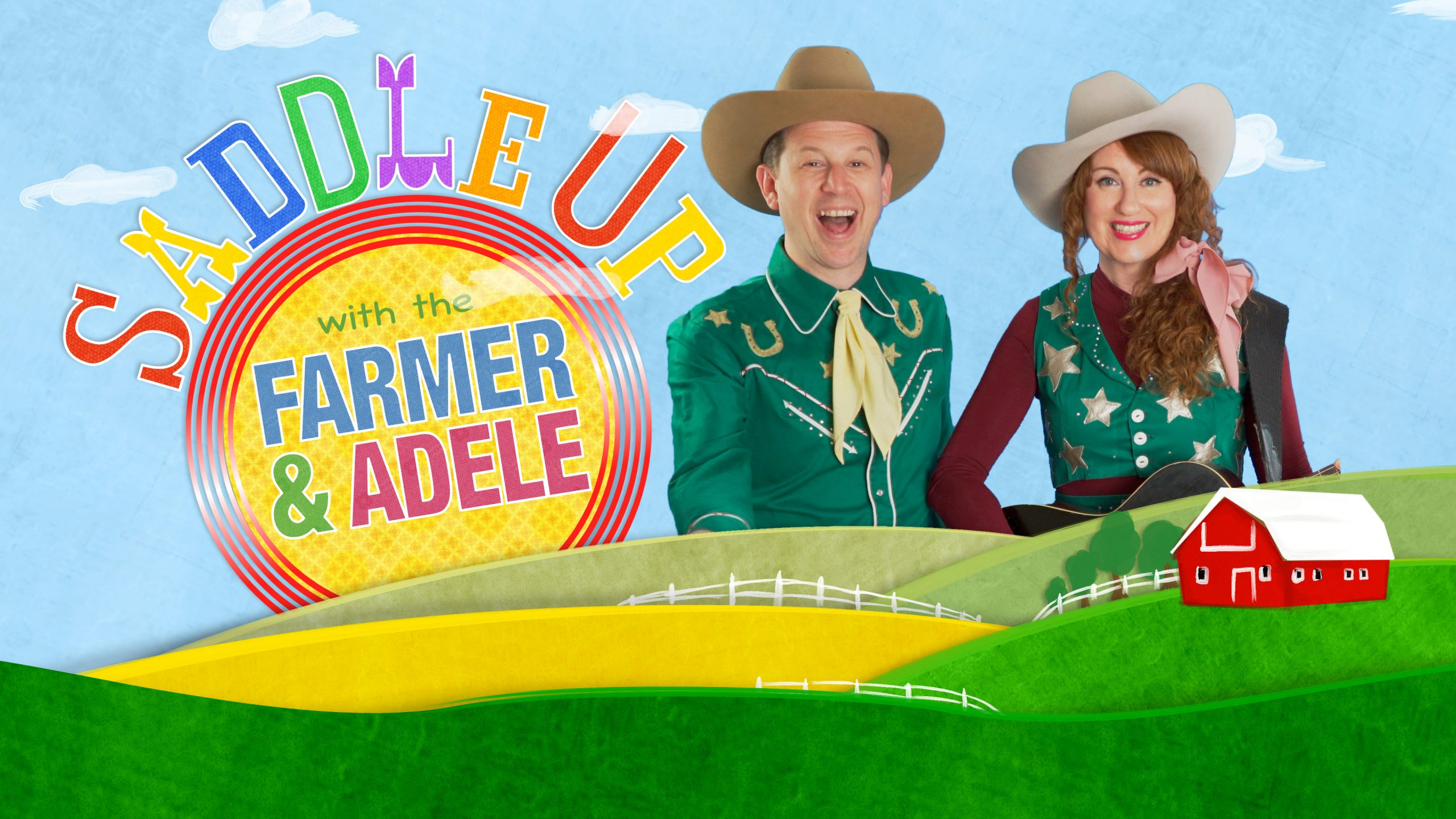 Saddle Up With The Farmer & Adele